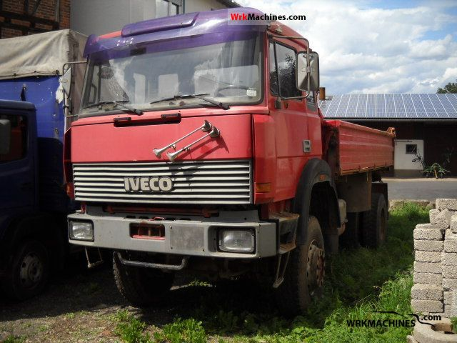 1993 IVECO P/PA 180-25 Truck over 7.5t Three-sided Tipper photo