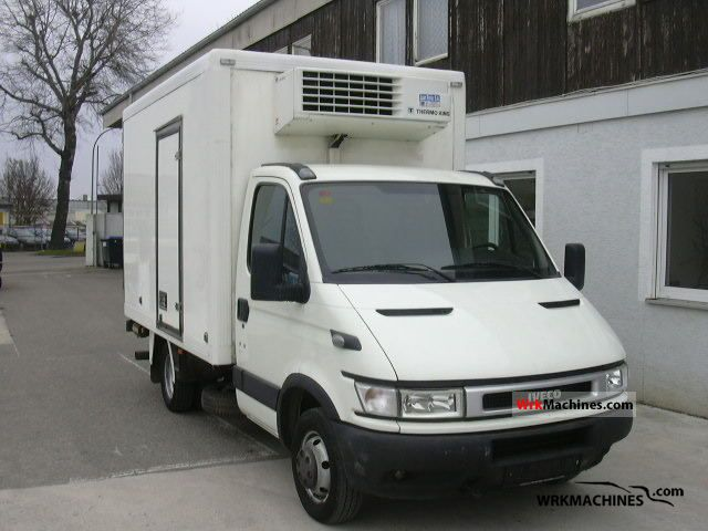 2006 IVECO Daily III 35C12 Van or truck up to 7.5t Refrigerator body photo