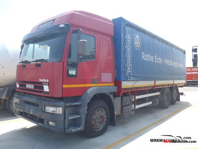 2001 IVECO EuroTrakker 190 Truck over 7.5t Stake body photo