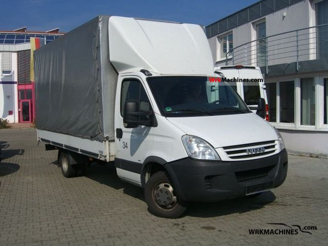 iveco daily iii 35c15 2008 stake body and tarpaulin photos. Black Bedroom Furniture Sets. Home Design Ideas