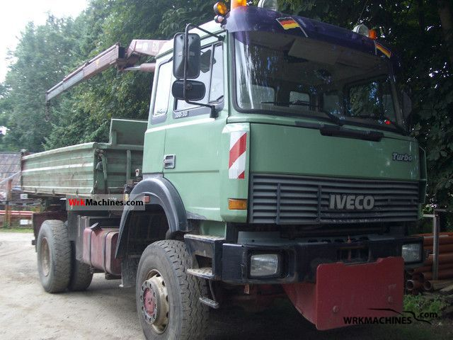 1992 IVECO P/PA 190-30 HW Truck over 7.5t Three-sided Tipper photo