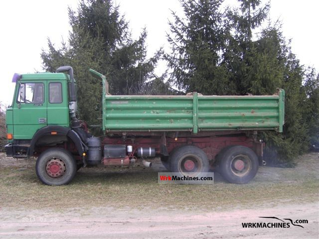 1989 IVECO P/PA 330-36 Truck over 7.5t Tipper photo
