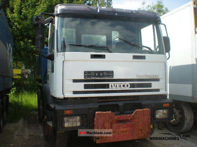 1994 IVECO EuroTrakker 260 E 37 Truck over 7.5t Tipper photo