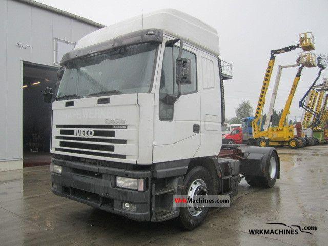 2001 IVECO EuroStar 440 E 40 Semi-trailer truck Standard tractor/trailer unit photo