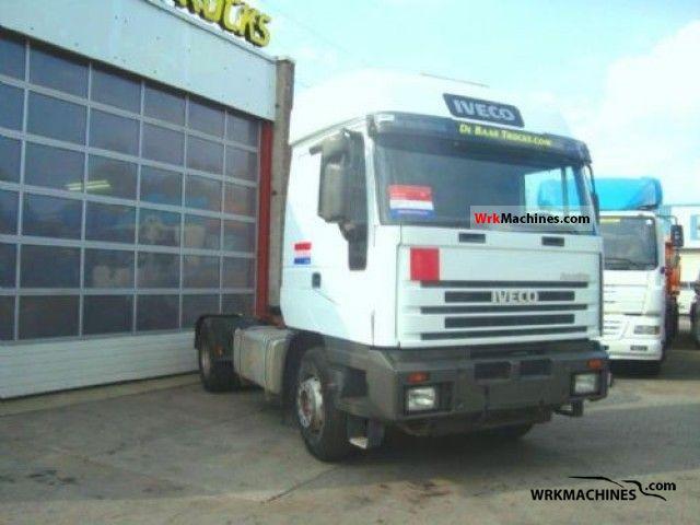 2002 IVECO EuroStar 440 E 42 Semi-trailer truck Standard tractor/trailer unit photo