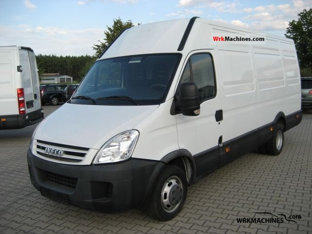 2008 IVECO Daily II 35 C 15 V Van or truck up to 7.5t Box-type delivery van - high and long photo
