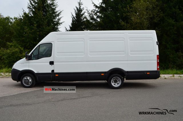 2008 IVECO Daily II 35 C 15 Van or truck up to 7.5t Box-type delivery van - high and long photo
