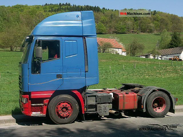 2001 IVECO EuroStar 440 E 43 Semi-trailer truck Standard tractor/trailer unit photo
