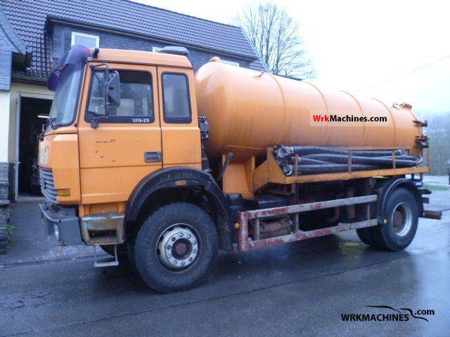 1991 IVECO P/PA 170-23 Truck over 7.5t Tank truck photo