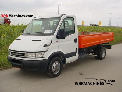 2006 IVECO Daily II 50 C 13 Van or truck up to 7.5t Traffic construction photo
