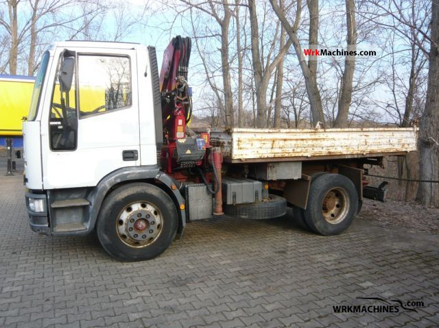 1998 IVECO EuroCargo 120 E 15 Truck over 7.5t Tipper photo