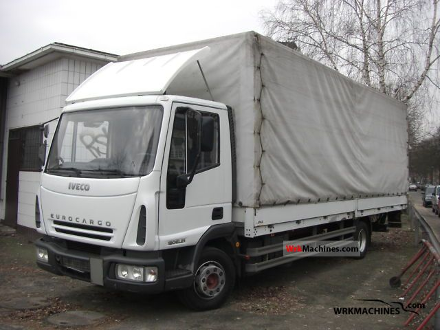 2004 IVECO EuroCargo 120 EL 21 Truck over 7.5t Stake body and tarpaulin photo