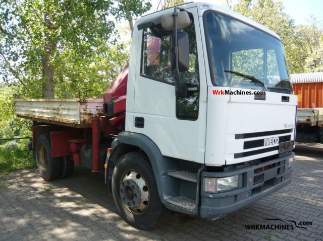 1998 IVECO EuroCargo 120 E 15 Truck over 7.5t Three-sided Tipper photo
