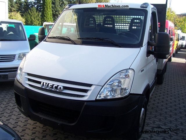 2008 IVECO Daily II 35 S 12 Van or truck up to 7.5t Stake body photo