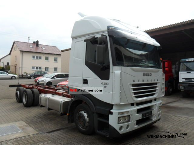 2005 IVECO Stralis 260S43 Truck over 7.5t Swap chassis photo