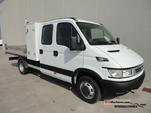 2006 IVECO Daily III 35C12 Van or truck up to 7.5t Stake body photo