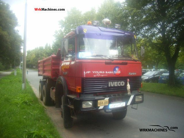 1990 IVECO P/PA 260-34 Truck over 7.5t Tipper photo