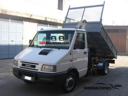 1999 IVECO Daily I 35-10 Van or truck up to 7.5t Roll-off tipper photo