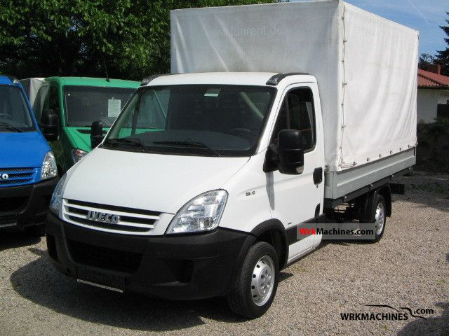 2008 IVECO Daily II 29 L 10 Van or truck up to 7.5t Stake body photo