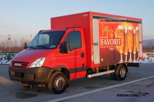 2007 IVECO Daily III 65C15 Van or truck up to 7.5t Beverages van photo