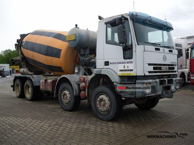2001 IVECO EuroTrakker 340 E 35 Truck over 7.5t Cement mixer photo
