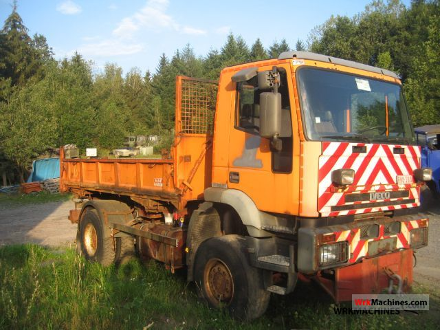 2000 IVECO EuroTech MH 190 E 31 Truck over 7.5t Tipper photo