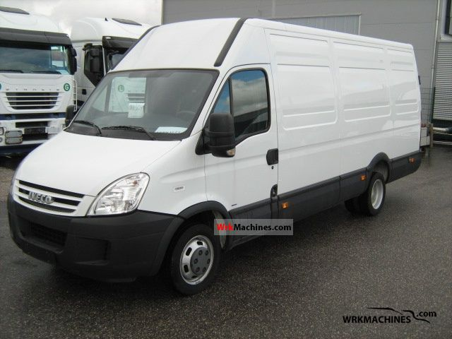 iveco daily iii 35c15 2009 box type delivery van high and long photos and info. Black Bedroom Furniture Sets. Home Design Ideas