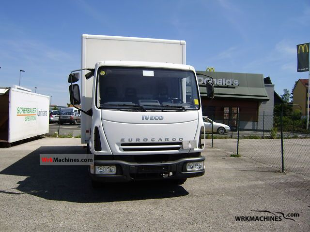 2006 IVECO EuroCargo 75 E 15 Truck over 7.5t Box photo