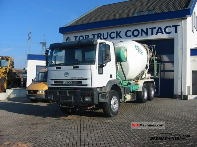 1999 IVECO EuroTrakker 260 E 34 Truck over 7.5t Cement mixer photo