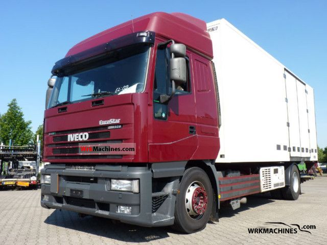 2002 IVECO EuroTrakker 190 Truck over 7.5t Refrigerator body photo