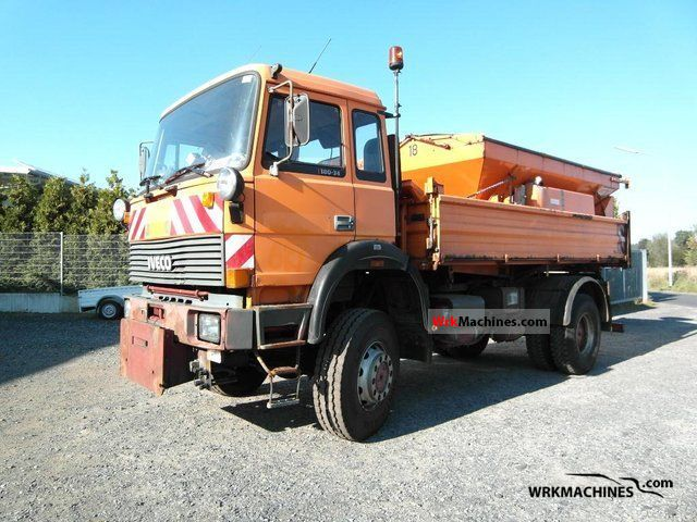 1993 IVECO P/PA 180-34 Truck over 7.5t Tipper photo
