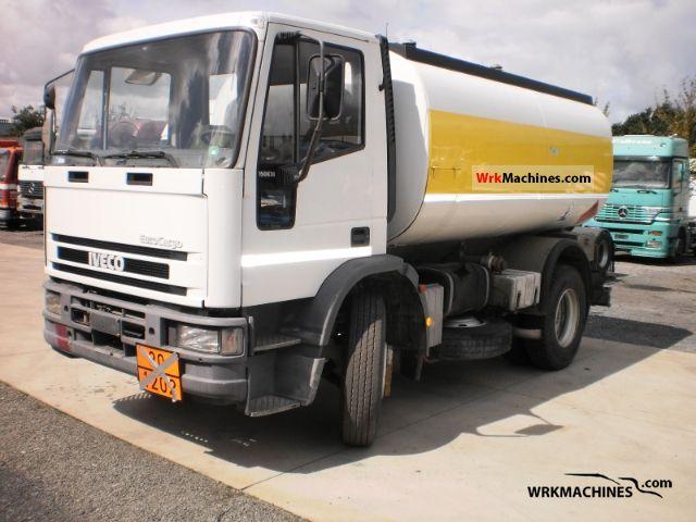 1992 IVECO EuroCargo 150 E 18 K Truck over 7.5t Tank truck photo