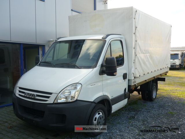 2008 IVECO Daily III 35C15 /P Van or truck up to 7.5t Stake body and tarpaulin photo