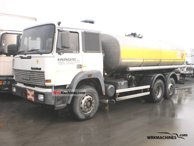 1992 IVECO TurboStar 190-36 T Truck over 7.5t Tank truck photo
