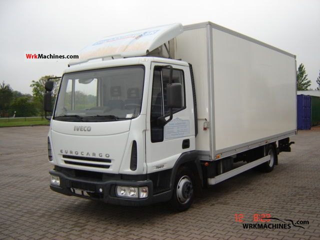 2006 IVECO EuroCargo 80 E 17 Truck over 7.5t Box photo
