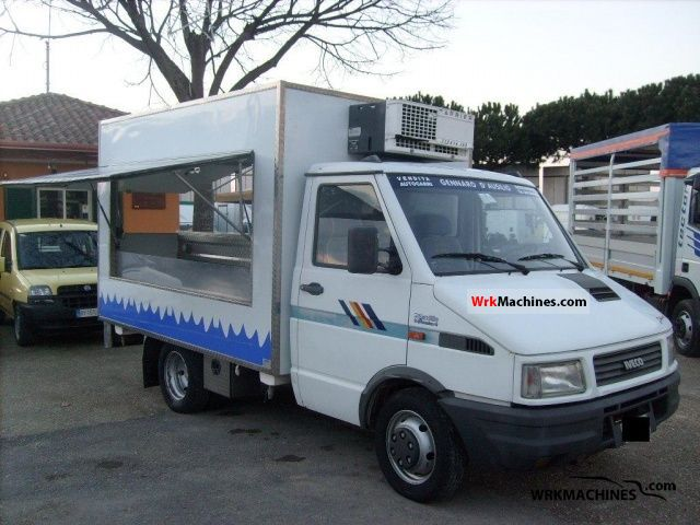 1994 IVECO Daily I 35-12 Van or truck up to 7.5t Traffic construction photo
