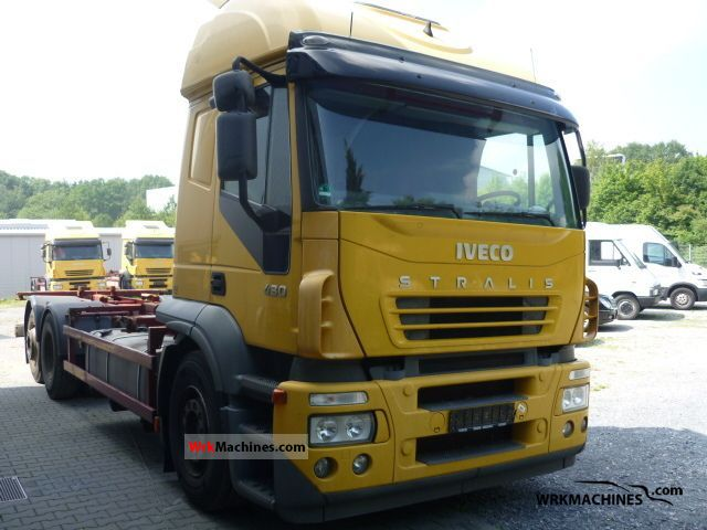 2004 IVECO Stralis 260S43 Truck over 7.5t Swap chassis photo