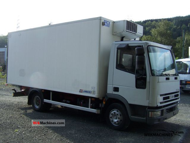 2001 IVECO EuroCargo 100 E 15 Truck over 7.5t Refrigerator body photo