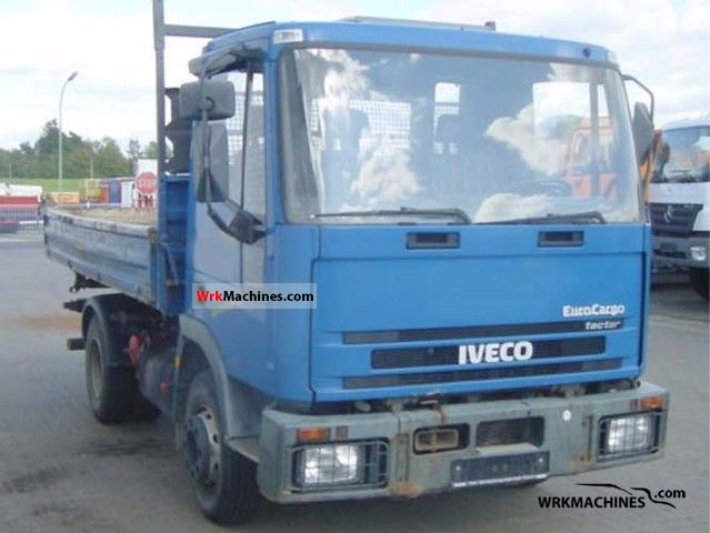 2001 IVECO EuroCargo 100 E 18 Truck over 7.5t Tipper photo