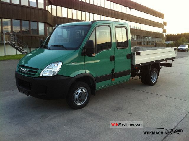 2007 IVECO Daily II 35 C 15 Van or truck up to 7.5t Stake body photo