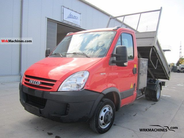 2007 IVECO Daily III 35C12 Van or truck up to 7.5t Tipper photo