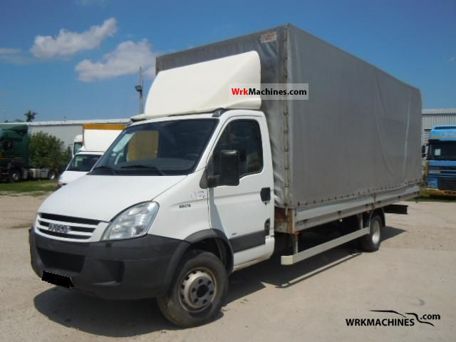 2007 IVECO Daily III 65C18 Van or truck up to 7.5t Stake body and tarpaulin photo
