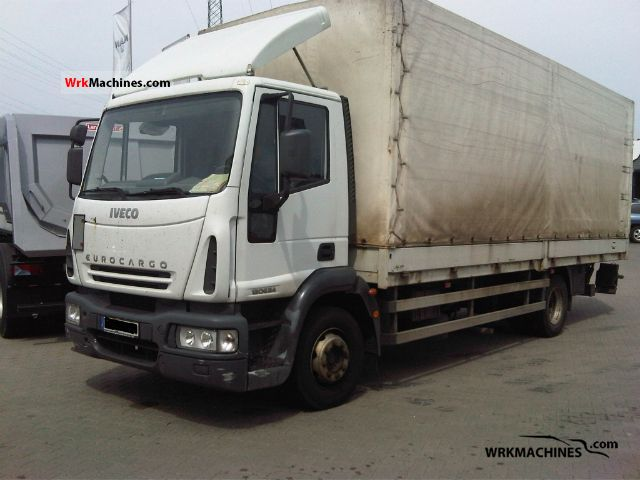 2006 IVECO EuroCargo 120 E 24 Truck over 7.5t Stake body and tarpaulin photo