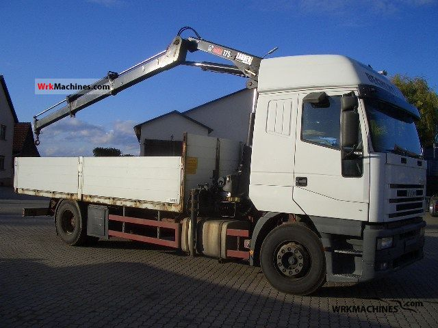 2000 IVECO EuroStar 190 E 38 Truck over 7.5t Stake body photo