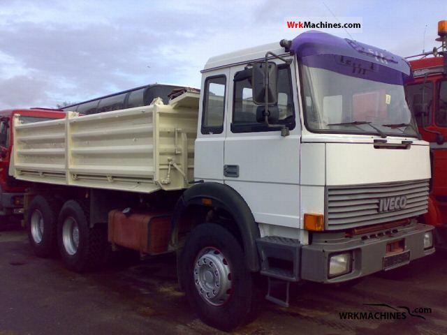 1991 IVECO P/PA 330-30 Truck over 7.5t Tipper photo