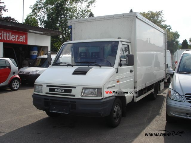 2001 IVECO Daily I 49-12 Van or truck up to 7.5t Other vans/trucks up to 7,5t photo