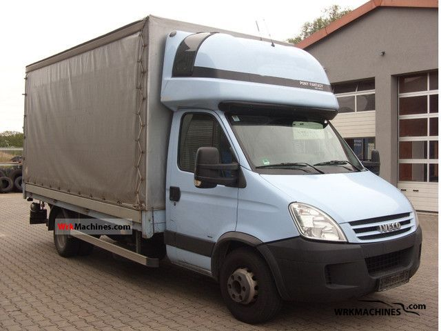 2007 IVECO Daily III 65C15 Van or truck up to 7.5t Stake body and tarpaulin photo