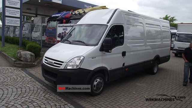 2008 IVECO Daily III 35C15 K Van or truck up to 7.5t Box-type delivery van - high and long photo