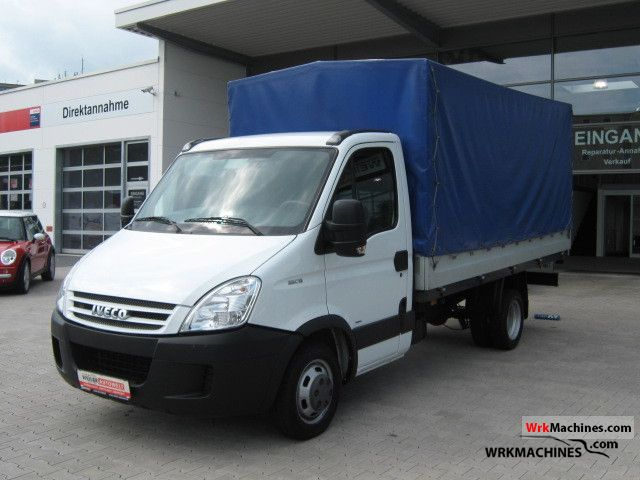 2008 IVECO Daily II 35 C 15 Van or truck up to 7.5t Stake body and tarpaulin photo
