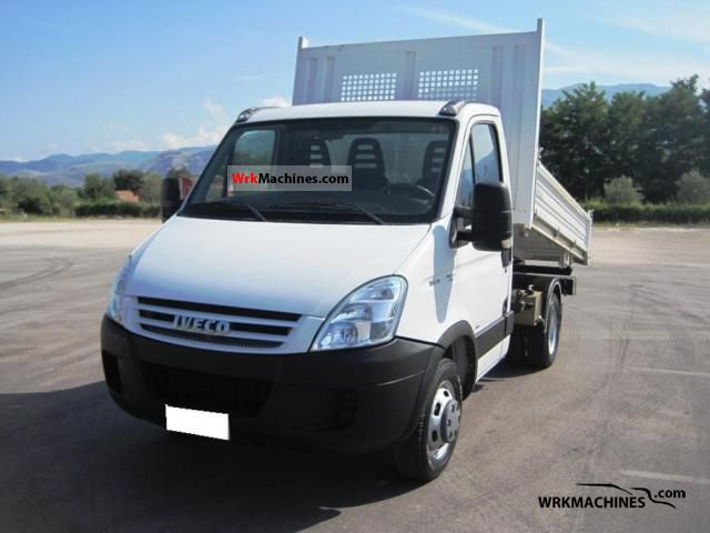 2008 IVECO Daily II 35 C 12 Van or truck up to 7.5t Three-sided Tipper photo